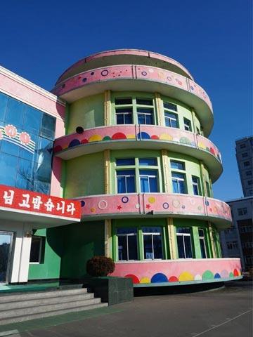 朝鲜一日游之新义州