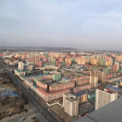 城市中的朝鲜百姓居住环境怎么样?
