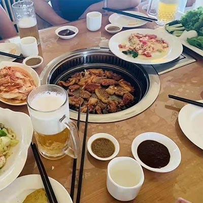去朝鲜旅游,吃的怎么样?