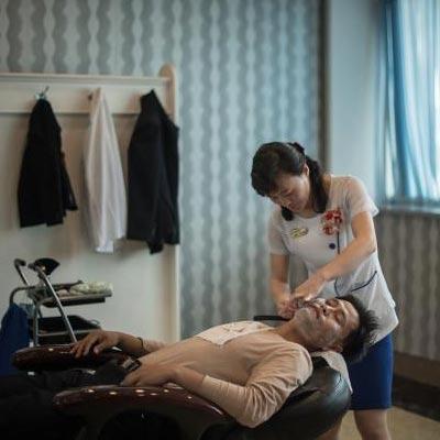 朝鲜的理发店是什么样的?